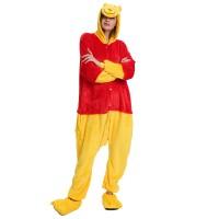 Winnie The Pooh Kigurumi Onesies Pajamas Animal Onesies for Adult