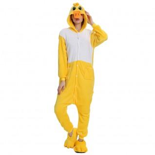Duck Kigurumi Animal Onesie Pajama Costumes for Adult