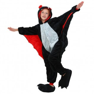 Kids Bat Kigurumi Onesies Pajamas Animal Costumes