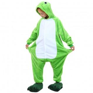 Kids Frog Kigurumi Animal Onesies Pajamas