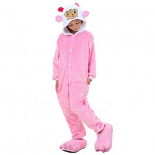 Kids Pretty Goat Kigurumi Animal Onesies Pajamas
