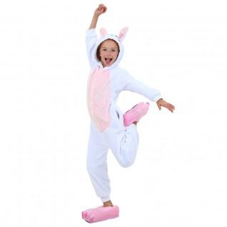 Kids Pink Rabbit Kigurumi Animal Onesies Pajamas