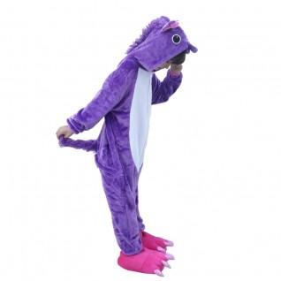 Kids Purple Unicorn Onesies Pajamas Kigurumi Animal Onesies Pajamas
