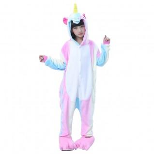 Kids Rainbow Unicorn Onesies Pajamas Kigurumi Animal Pajamas