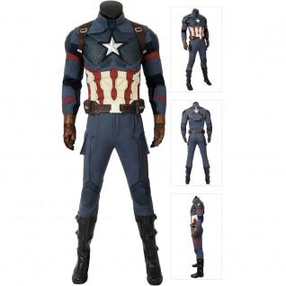 Captain America Cosplay Costumes Avengers-Endgame Steve Rogers