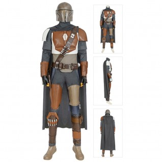 Mandalorian Cosplay Costume Star Wars Costumes