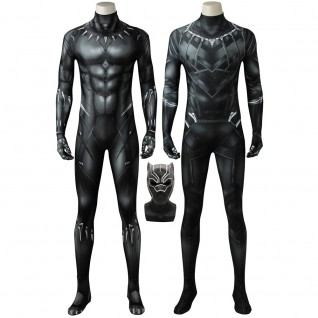 Black Panther Cosplay Costumes Adult Classic Black Panther Suits
