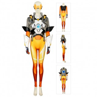Tracer Cosplay Costume Overwatch 2 Lena Oxton Costume