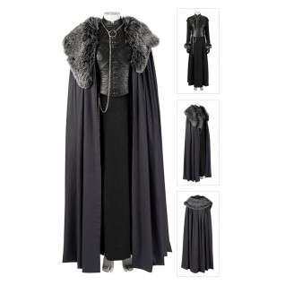 Sansa Stark Cosplay Costume Game of Thrones Season 8 Costumes