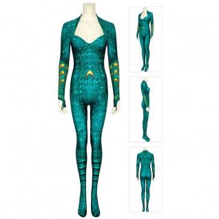 Mera Cosplay Costume Aquaman Jumpsuits