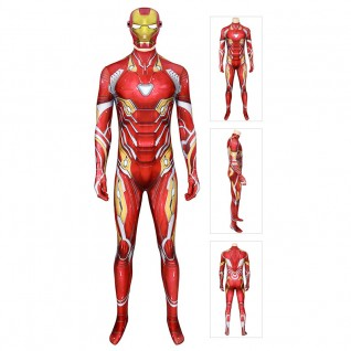 Iron Man Costume for Adult The Avengers Tony Stark Cosplay Jumpsuits