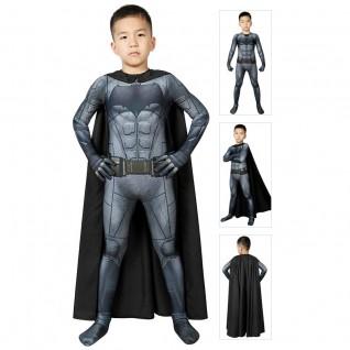 Batman Cosplay Costume for Kids Justice League Batman Jumpsuits