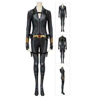 Black Widow Cosplay Costume Natasha Romanoff Black Jumpsuit