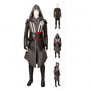 Master Assassin Cosplay Costumes Callum Lynch Assassin'S Creed Movie Suits