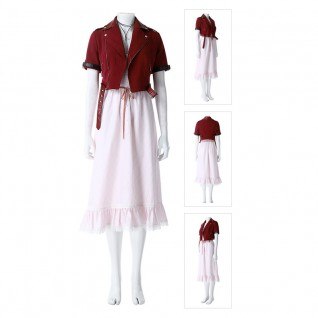 Alice Costume Final Fantasy VII Remake Cosplay Costumes