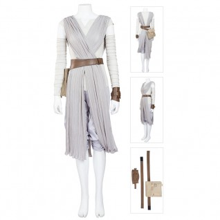 Rey Costume Upgraded Version Star Wars Cosplay Costumes