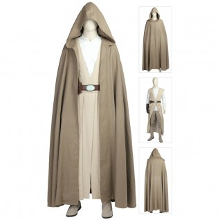 The Last Jedi Luke Skywalker Costume Star Wars 8 Cosplay Costumes