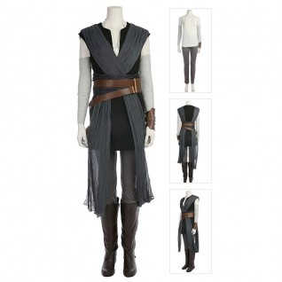 Rey Costume Top Level Version Star Wars 8 Cosplay Suits