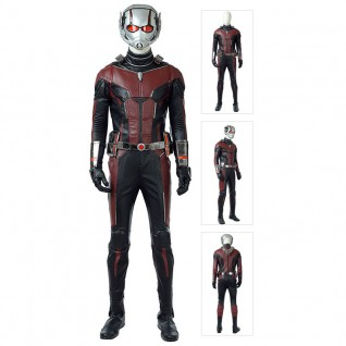 Scott Lang Costume Ant-Man Cosplay Suit Top Quality