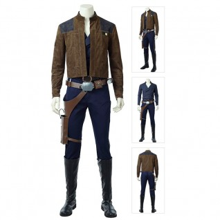 Han Solo Costume Rogue One A Star Wars Story Cosplay Suit