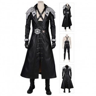Sephiroth Costume Final Fantasy VII Remake Cosplay Suits