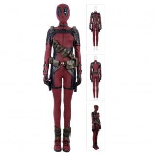 Women Deadpool Cosplay Costume Lady Deadpool Suit Luxury