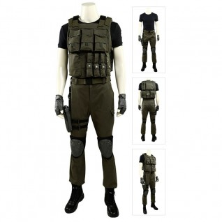 Carlos Oliveira Costume Resident Evil 3 Remake Cosplay Outfits