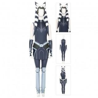 Ahsoka Tano Cosplay Costume Star Wars The Clone Wars Suits Deluxe