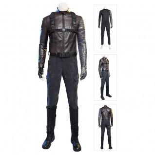 Winter Soldier Costume Bucky Barnes Cosplay Suit