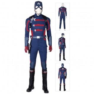 U.S. Agent John Walker Costume Captain America Cosplay Suits