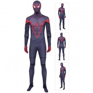 SpiderMan Miles Morales Costume Adult Spiderman Cosplay Suits