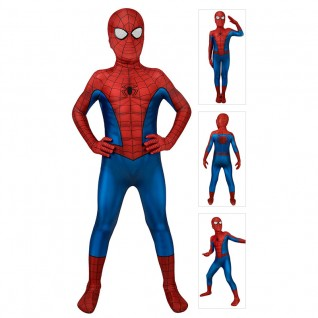 Spider-Man Costume Classic Ultimate Spiderman Cosplay Suits for Kids