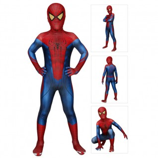 The Amazing Spider-Man Costume Peter Parker Kids Cosplay Suit