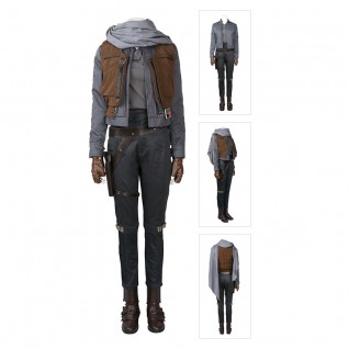 Jyn Erso Costume Rogue One A Star Wars Story Deluxe Cosplay Suit