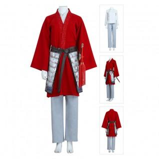 Movie Mulan Cosplay Costume Real Hua Mulan Suit
