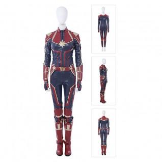 Carol Danvers Costume Captain Marvel Cosplay Customize Suits