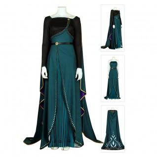 Anna Queen Cosplay Suits Frozen 2 Cosplay Costume
