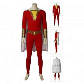 Shazam Cosplay Costume Billy Batson Cosplay Suits