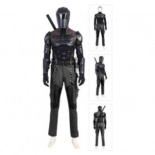 G.I. Joe Snake Eyes Costume G.I. Joe: Retaliation Cosplay Suit