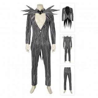Jack Skellington Cosplay Costume The Nightmare Before Christmas Suit