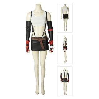 Tifa Lockhart Cosplay Costume Final Fantasy VII Remake Suit
