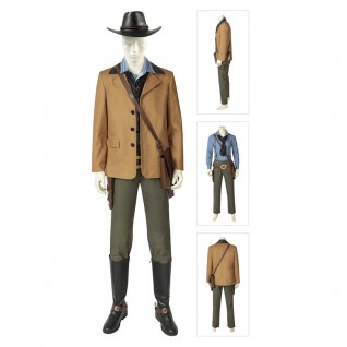 Arthur Morgan Cosplay Costume Red Dead Redemption 2 Deluxe Suits