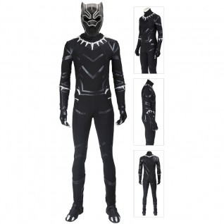 Black Panther Costume Luxury Black Panther Cosplay Suit