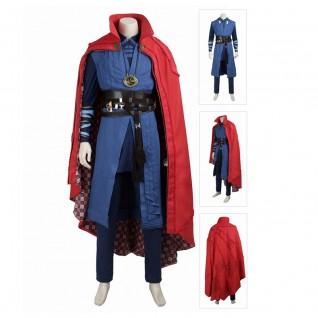 Doctor Strange Cosplay Costume Stephen Vincent Suit Full Set
