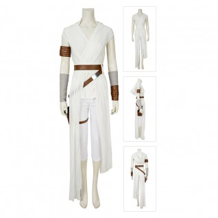 Rey Costume Star Wars The Rise Of Skywalker Cosplay Suits