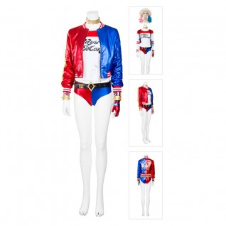 Harley Quinn Costume The Suicide Squad Cosplay Suit