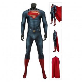 Superman Suit Clark Kent Costume Man Of Steel Cosplay Bodysuit