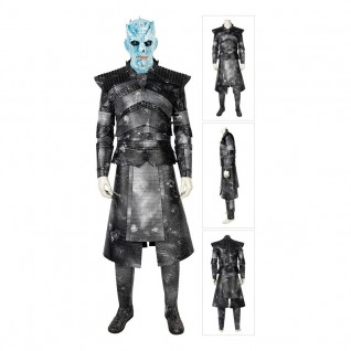 Night King Cosplay Costume Game of Thrones Suits Full Set