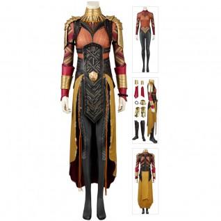 Okoye Cosplay Costume Black Panther Dora Milaje Luxury Suit