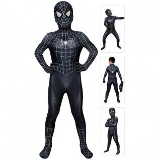Spider Man 3 Venom Cosplay Costume Spider-Man Jumpsuit for Kids